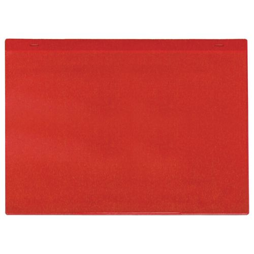 Self-Adhesive Red Document Pocket Id 155X230mm