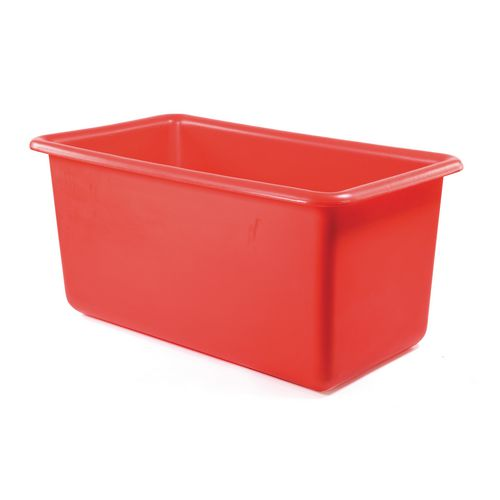 320L Heavy Duty Tapered Tank Red