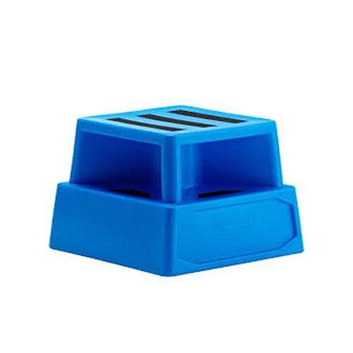 Heavy Duty Plastic Step Blue