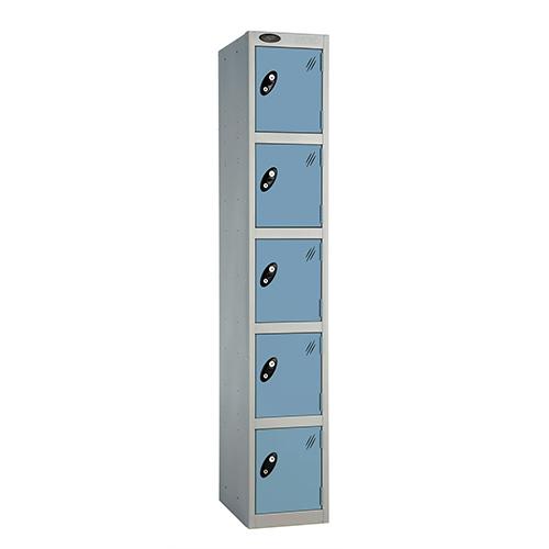 5 Door Locker D:305mm Silver Body &Ocean Door
