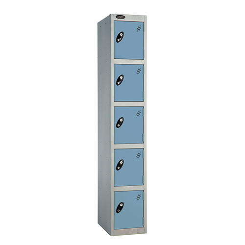 5 Door Locker D:457mm Silver Body &Ocean Door