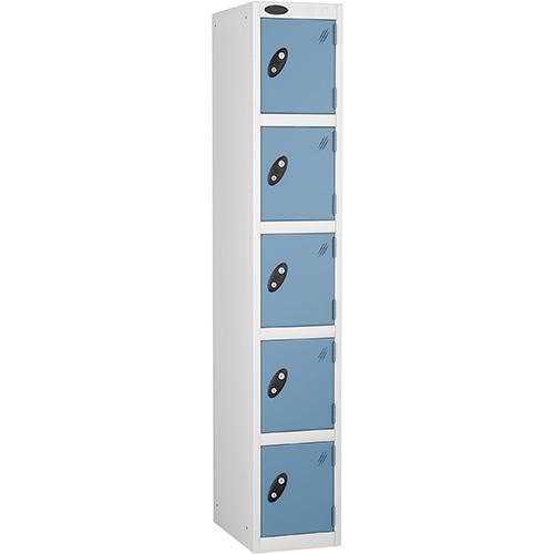 5 Door Locker D:457mm White Body &Ocean Door