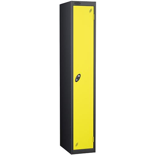 Black Body Lockers 12X18 Single Lemon Door