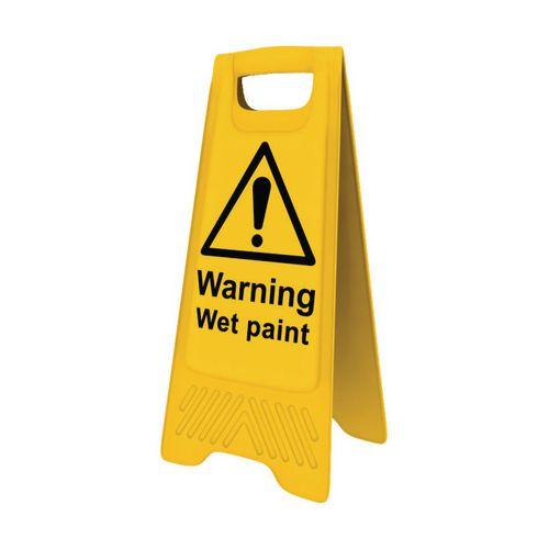 Heavy Duty A-Board 'Warning Wet Paint'
