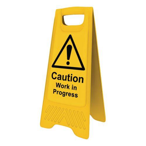 Heavy Duty A-Board  'Caution Work In Progress'