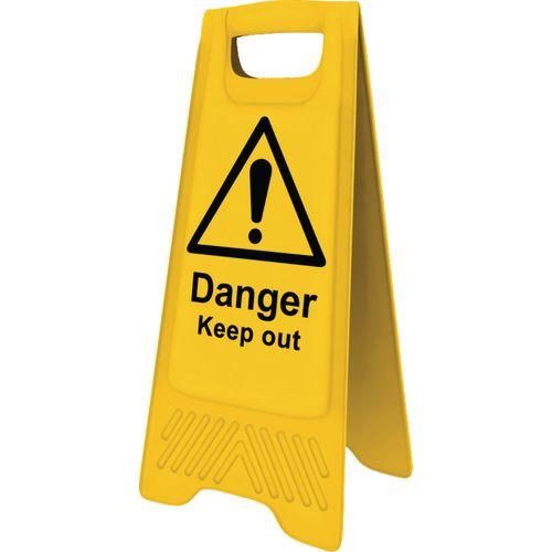 Heavy Duty A-Board 'Danger Keep Out'