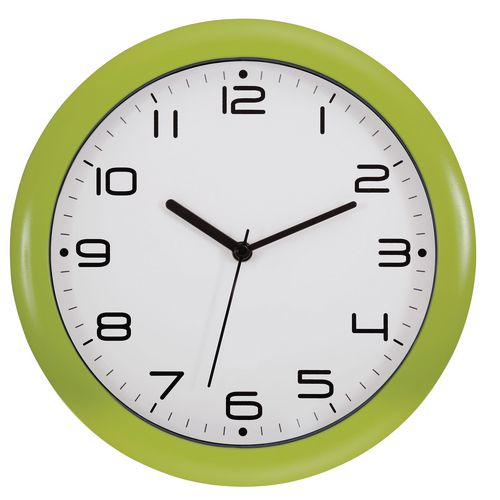 Wall Clock 300mm Diameter Green