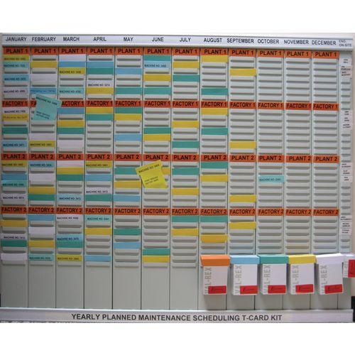 Planned Maintenance Board T-Card Kit (Size 2)