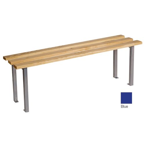 Classic Mezzo Bench 2500x325mm 4 Legs Blue