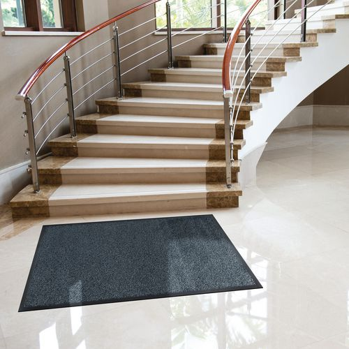 Washable Entrance Mat 85x120Cm Granite