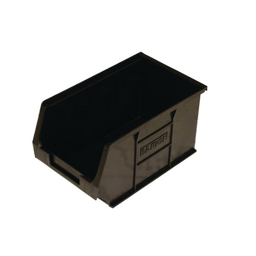 Tc3 Container Economy Black (Pack Of 10)