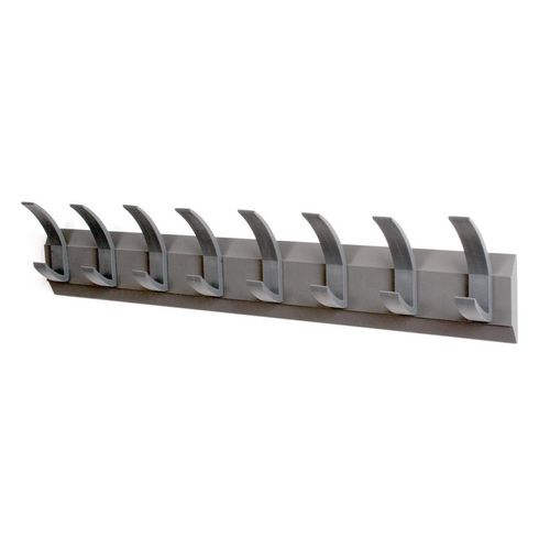 Linear 8 Wall Coat Rack