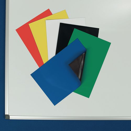 Magnetic Sheets A4 Red