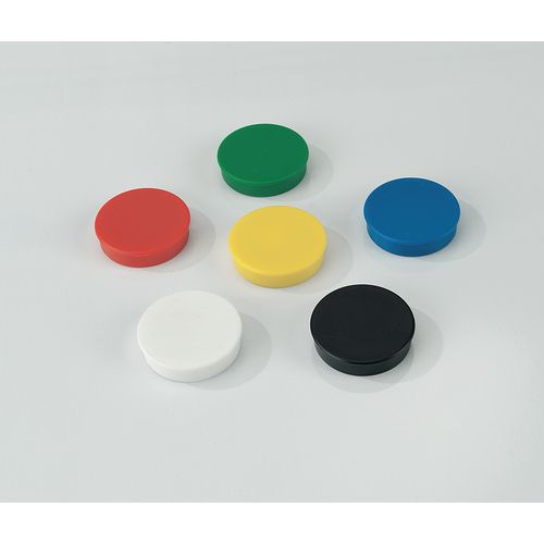 Coloured Magnets 30mm Black