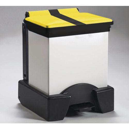 30 Litre All Plastic Removable Body Fire Retardant Sack Holder Tiger Stripe Lid
