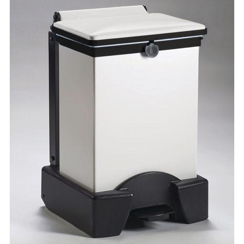 45 Litre All Plastic Removable Body Fire Retardant Sack Holder White Lid