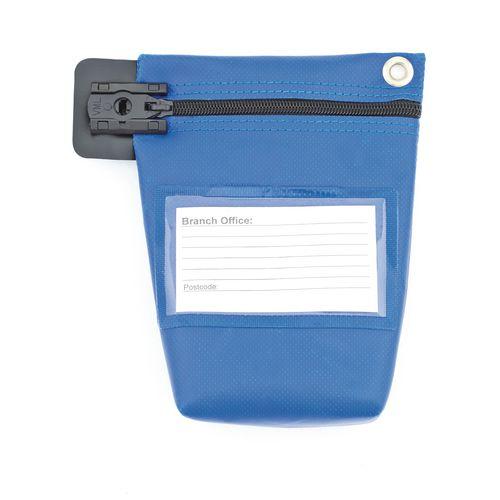 Cash Bag Small Blue 178x152x50mm