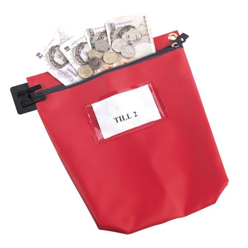 Cash Bag Medium Red 267x267x50