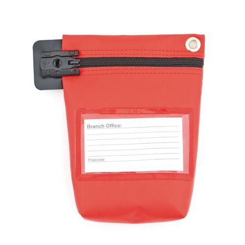 Cash Bag Large Red 330x267x50