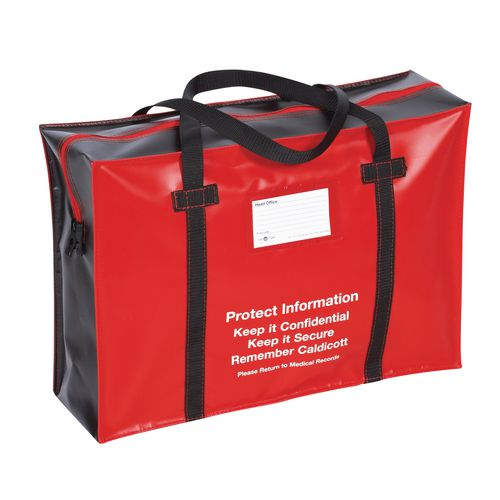 Medical Records Holdall Red And Black 508 X356x152mm