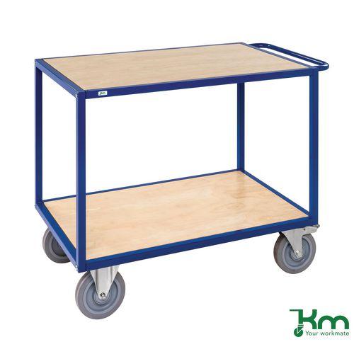 Extra Heavy Duty Table Top Trolley. Shelf Size LxW 1080x680mm