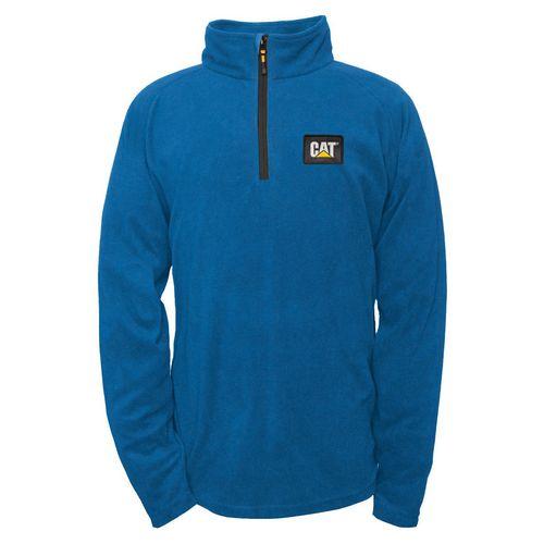 Concord Fleece Pullover Small Bright Blue
