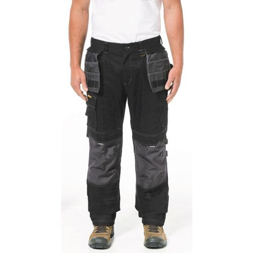 "H2O Defender Trouser 40X30"" Short Black Graphite 30"" Leg"