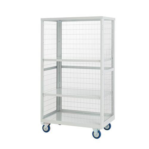 Mobile Storage Shelving 1655.900.600 Steel Light Grey