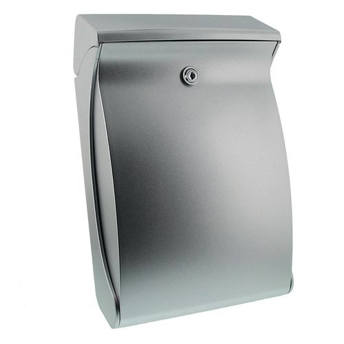 Compact Post Box High Quality Plastic. Weather Resistant. Front Opening. W271xH419xD129mm. White