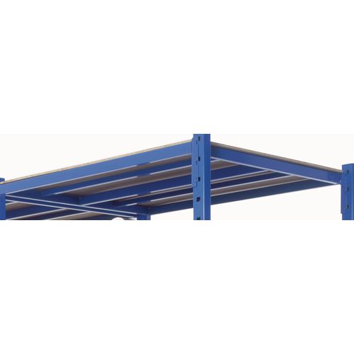 Extra Shelf With Cover Heavy Duty Tubular 1010X800mm Blue