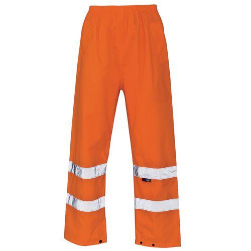Hi Vis Over Trouser Large Orange