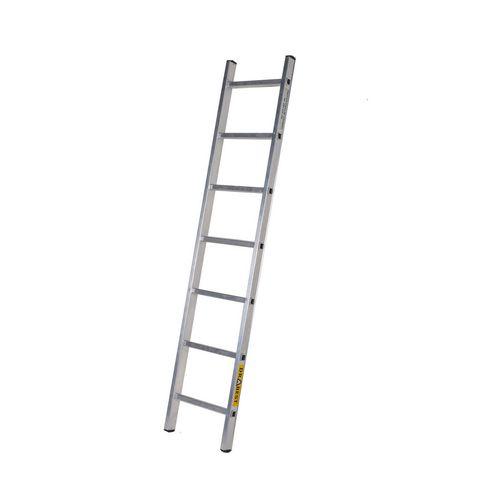 Single Aluminium Ladder 7 Tread En131 150Kg Capacity
