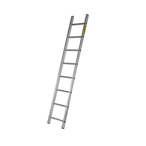 Single Aluminium Ladder 9 Tread En131 150Kg Capacity
