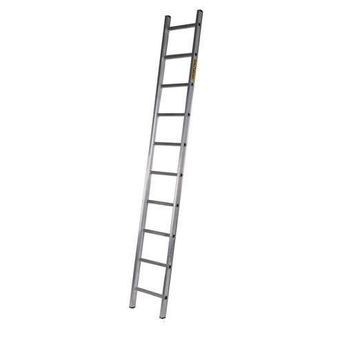 Single Aluminium Ladder 11 Tread En131 150Kg Capacity