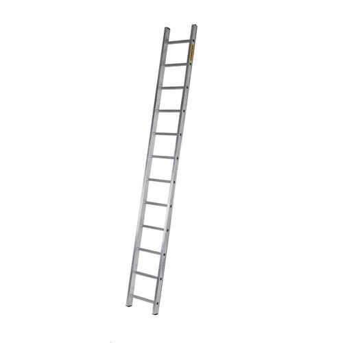 Single Aluminium Ladder 12 Tread En131 150Kg Capacity