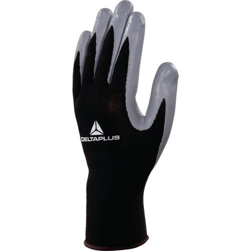 Nitrile Coated Knitted Polyester Glove Gauge 13 Size 8