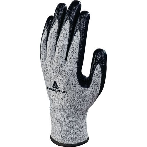 Pack Of 3 Knitted Econocut Glove With Nitrile Coating Gauge 13 Size 6