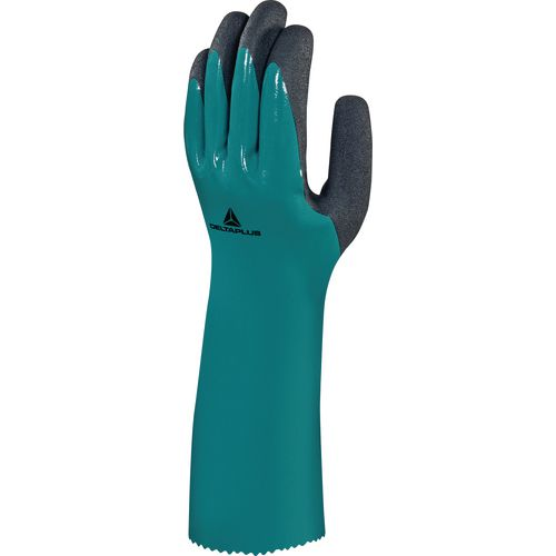 Glove In Nitrile On Polyamide Lining With Foam Nirtile Coating 35Cm Size 10