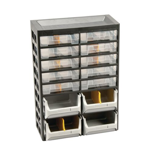 14-Drawer Basic Cabinet 435X305X170 Pk Of 2