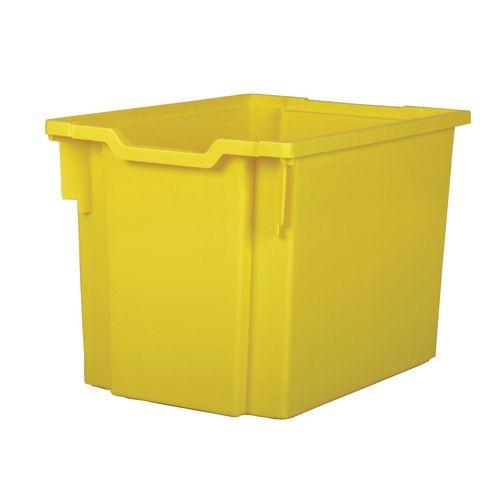 Jumbo Tray Yellow 300(H)x312(W)x430(D)