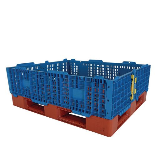Plastic Pallet Collar Blue 1200x1000x300mm