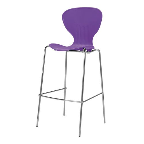 Rochester Stool Purple V1001-Pu