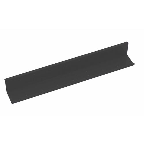 Elev8 2 Upper Cable Channel For 800mm Desk In Black