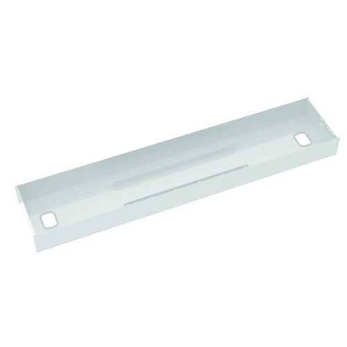 Elev8 2 White Lower Cable Channel &Cover For 1200 Back To Back