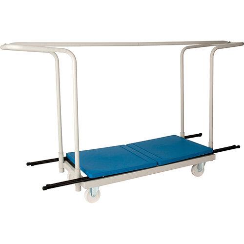 Titan Exam Desk Trolley - White