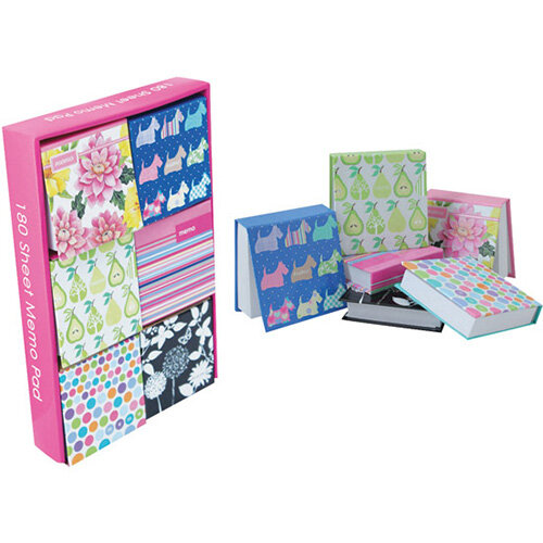 Just Stationery 180 Sheet Notepad Block Pack of 12 6066