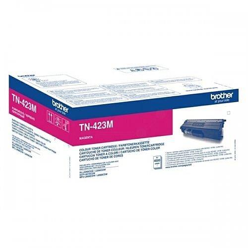 Brother TN-423M High Yield Magenta Toner Cartridge TN423M