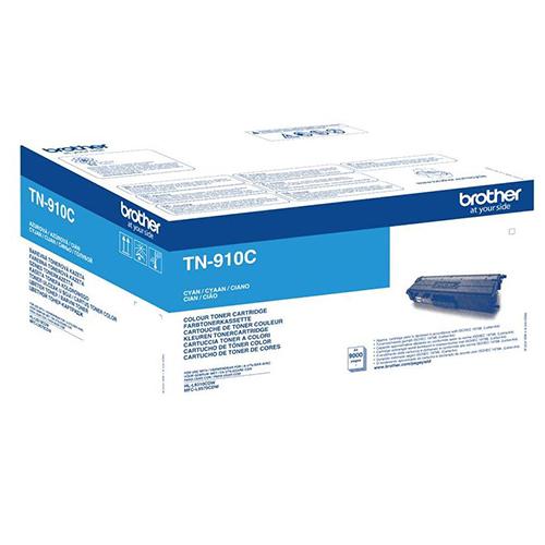 Brother TN-910C Ultra High Yield Cyan Toner Cartridge TN910C
