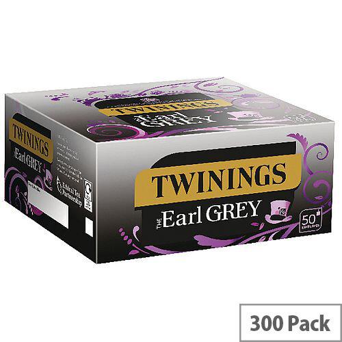 Twinings Earl Grey Envelope Tea Bags (Pack of 300)