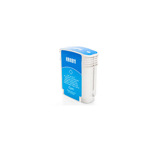 Compatible HP 82 C4911 Cyan 6000 Page Yield Ink Cartridge